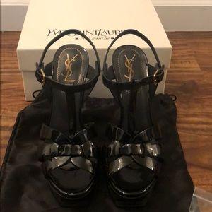 YSL Tribute Platform Sandals